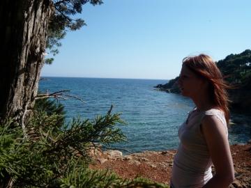 Ibiza - Vue sur la mer