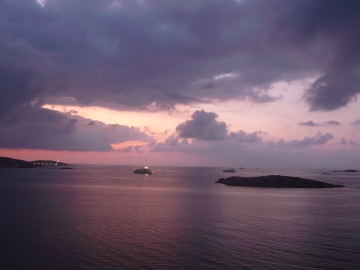 Ibiza - Le coucher du soleil