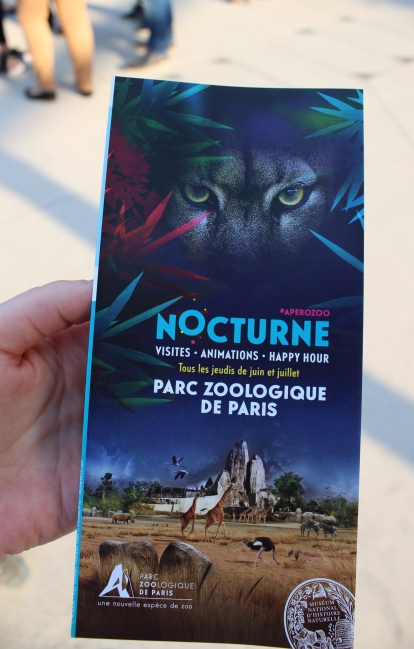 Soirée Silent Zoo : Silent Walk - Visite Nocturne et en Musique du Zoo de Paris - Programme