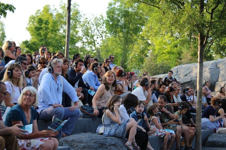 Soirée Silent Zoo : Silent Walk - Visite Nocturne et en Musique du Zoo de Paris - Visiteurs