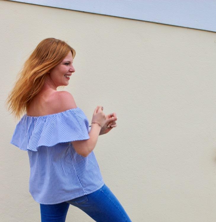 Audrey Valorzi - Top Bardot - Tendance Mode - 2 Le Charme Electro.com