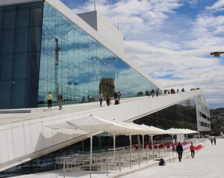Oslo - Norvège - Opéra - Visite - Voyage - Le Charme Electro.com