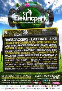 Elektric Park Festival - Dj - Le Charme Electro.com