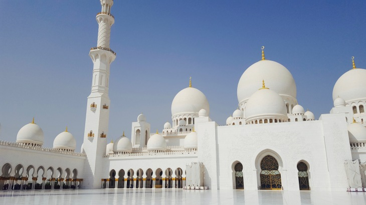 Abu Dhabi - Voyage - Mosquée Cheikh Zayed - 1 - LeCharmeElectro