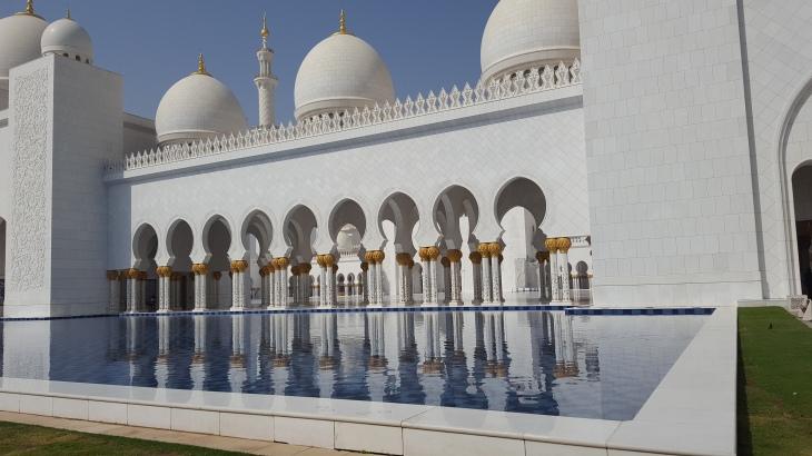 Abu Dhabi - Voyage - Mosquée Cheikh Zayed - LeCharmeElectro