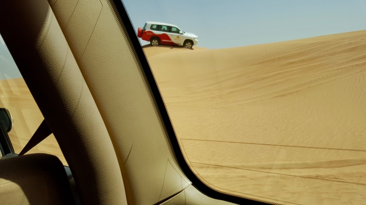Dubai - Safari - Desert - dunes - Voyage - LeCharmeElectro