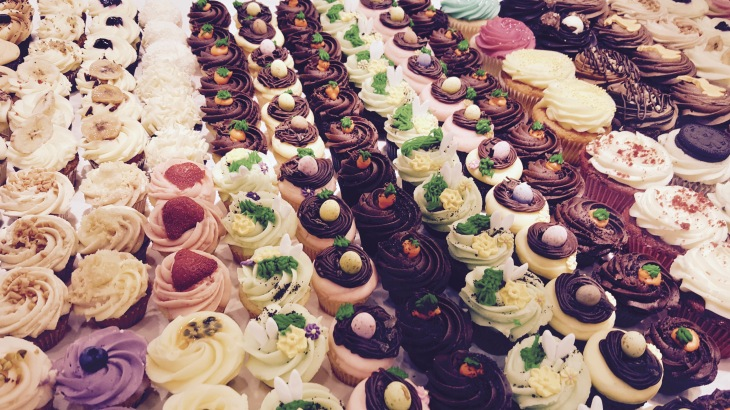 Muffins gateaux Londres - LeCharmeElectro