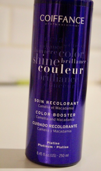Coiffance Platine Soin Recolorant