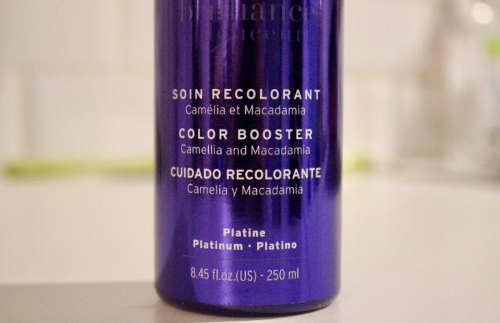Soin cheveux - décoloration Platine Coiffance 2