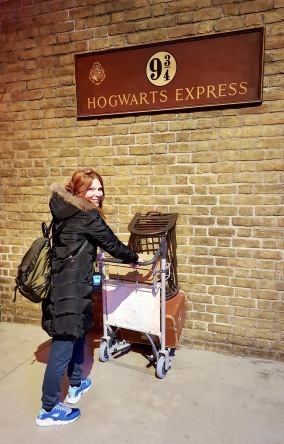 Harry Potter - Quai 9 3/4 Warner Bros Studio Tour, Londres