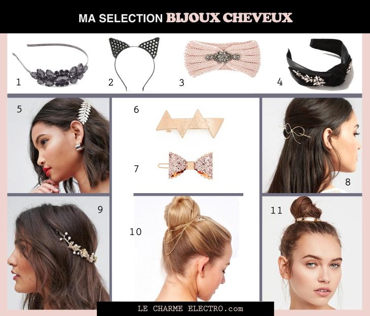 Accessoires Cheveux Bijoux - Mode Tendance Jour de l'an