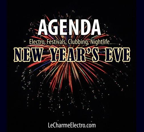 Agenda Décembre 2017Nouvel an Réveillon Soirées Clubbing Paris