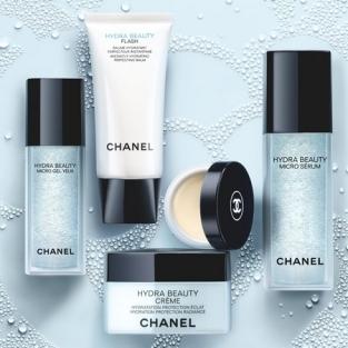 Chanel : Soins visage de la GammeHydra Beauty