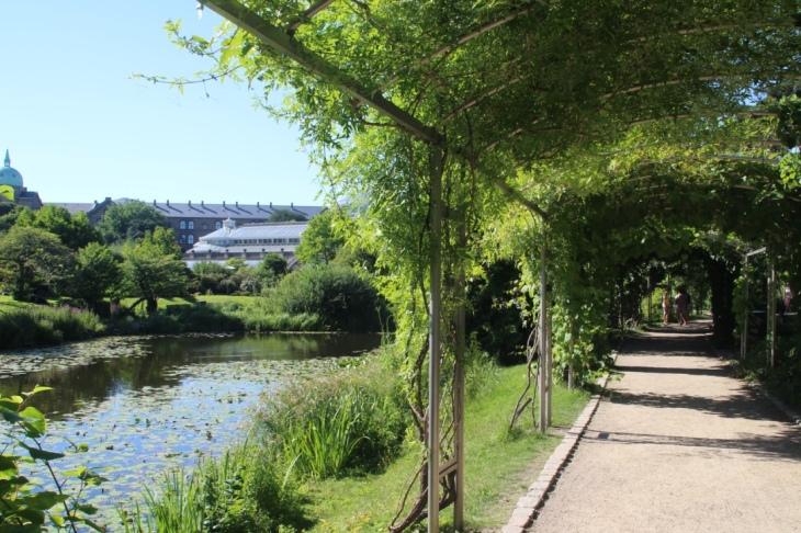 Copenhague Jardin Botanique et parc