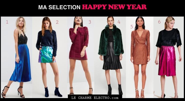Jour de l'an 2017 Total look couleur Tendance Mode Femme quelle tenue pour le jour de l'an - Le Charme Electro