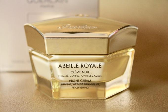Crème Nuit Abeille Royale de Guerlain Gelée royale Soin visage nuit