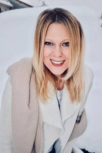 Audrey Valorzi LeCharmeElectro 3 Sous la neige en hiver