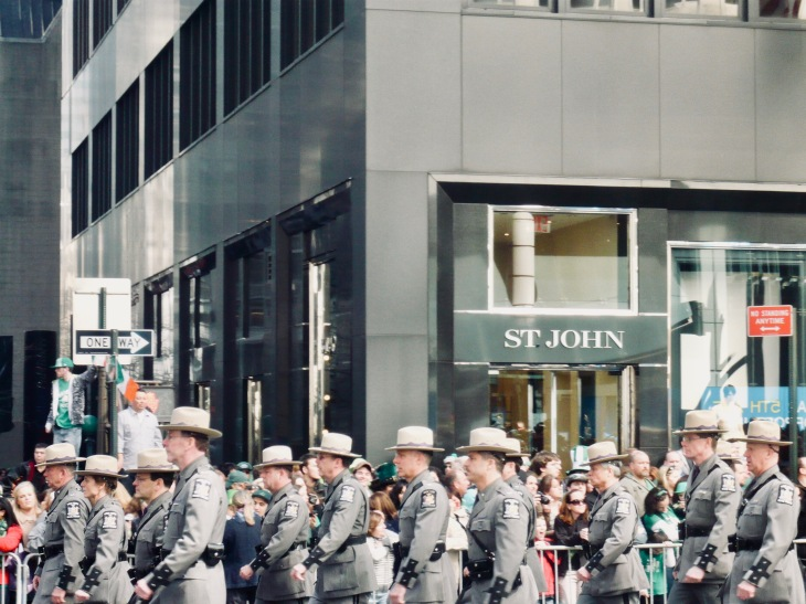 New York Saint Patrick - St Patrick Manhattan Parade