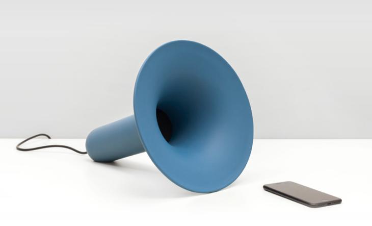 Enceinte Bluetooth - New Black - Design - Originale - Luciano Deep Ocean Blue 2