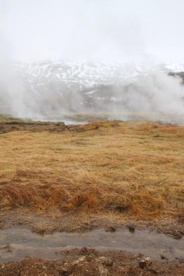 Geysir - Fumerolles en Islande