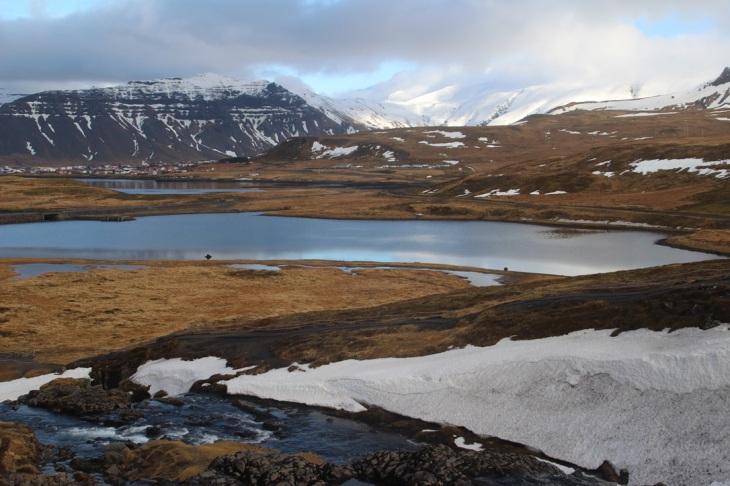 Grundarfjörður - péninsule de Snæfellsnes - paysage - Voyage en Islande en Mars