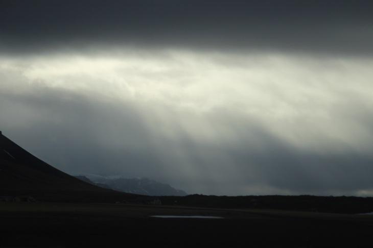 islande - Nuage - Voyage fin Mars