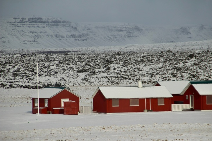 Les maisons islandaises