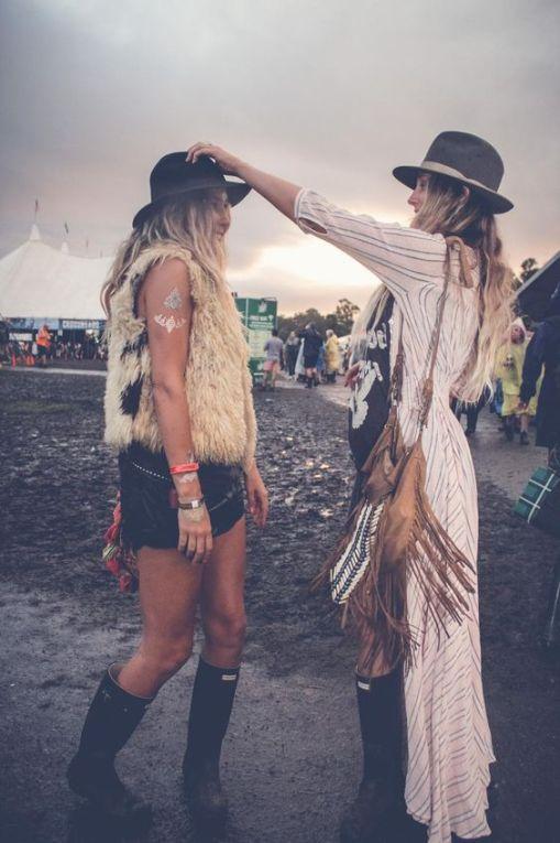 Look festival pluie
