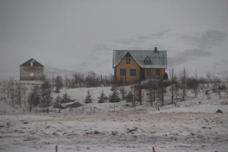 Mars - Paysage en Islande - climat