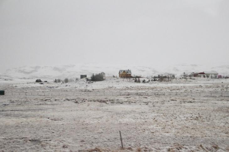 Mars - Paysage Islande - climat