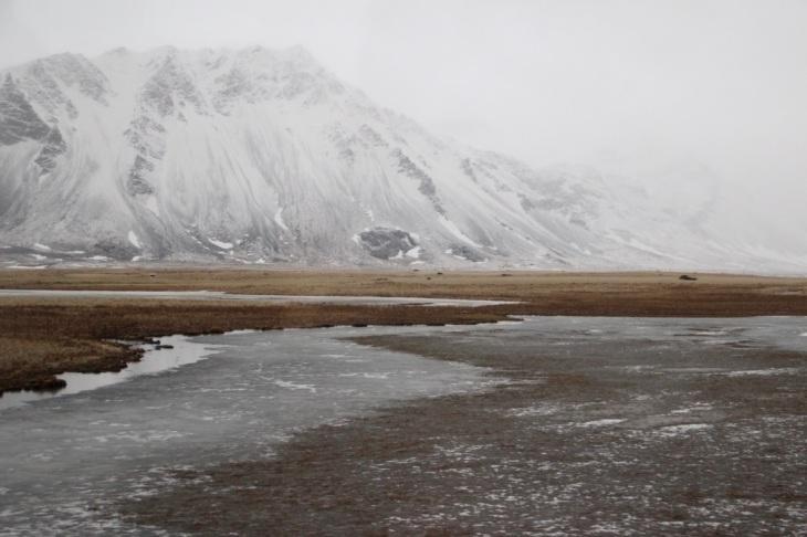 Mars sur les routes en Islande - Paysage