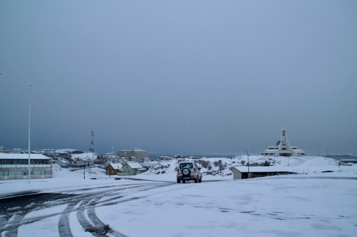 Paysage ville Islande