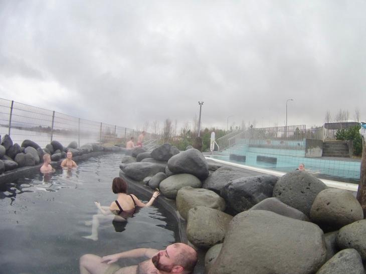 Spa Fontana Laugarvatn - Les bains chauds - Paysage