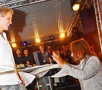 Avicii, FG Award Meilleur nouveau talent - Bob Sinclar, Antoine Baduel, Audrey Valorzi