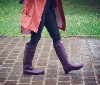 Bottes Hunter - Femme - Festival sous la pluie