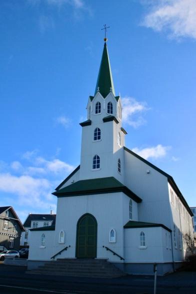 Église luthérienne, Reykjavik