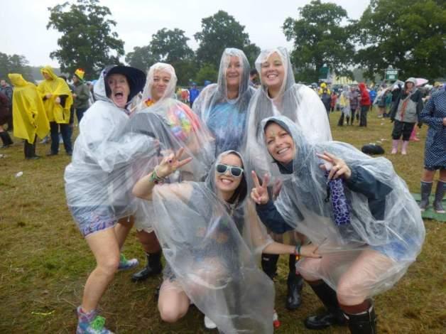 Festival sous la pluie - Les look à éviter