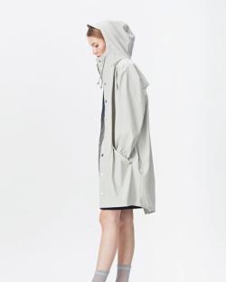 Rains Impérméable Blanc - Vêtement pour Festival sous la pluie