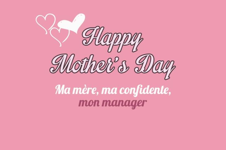 La fête des mères - Ma mère mon manager