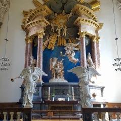 Eglise Notre Sauveur de Copenhague au Danemark - Vue de l'Intérieur