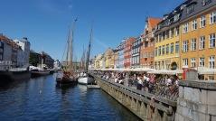 Le célèbre port de Copenhague aux maisons colorées - Nyhavn