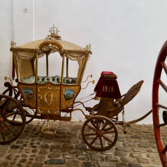 Palais de Christiansborg - Visite de la grande collection de carrosses royaux