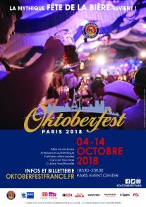 Oktoberfest à Paris 2018 - Fête de la bière - Soirée Electro OktoberKlub