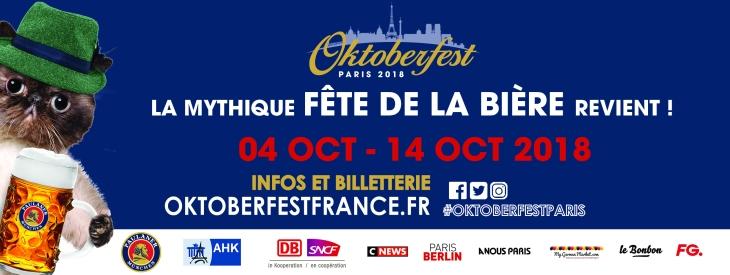 Oktoberfest - Fête de la Bière à Paris - Soirée Electro Oktoberklub
