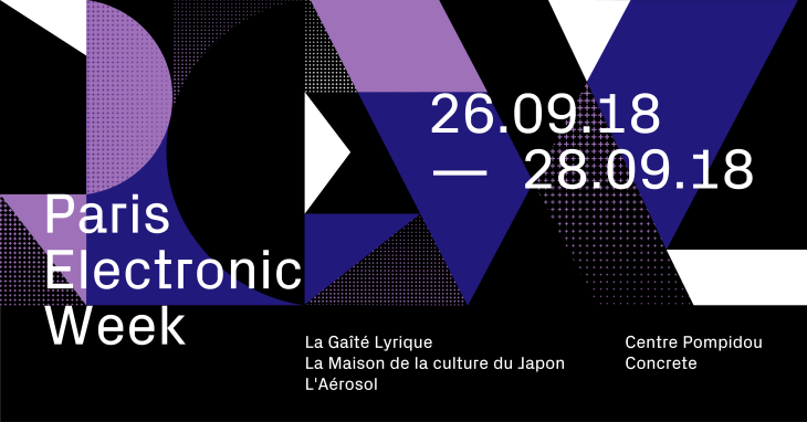 Paris Electronic Week 2018 - Programme Rencontres Workshop - Le Charme Electro.com