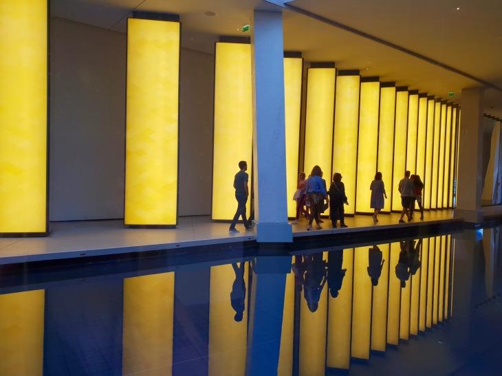 Vue de l'intérieur - Fondation Louis Vuitton - Paris