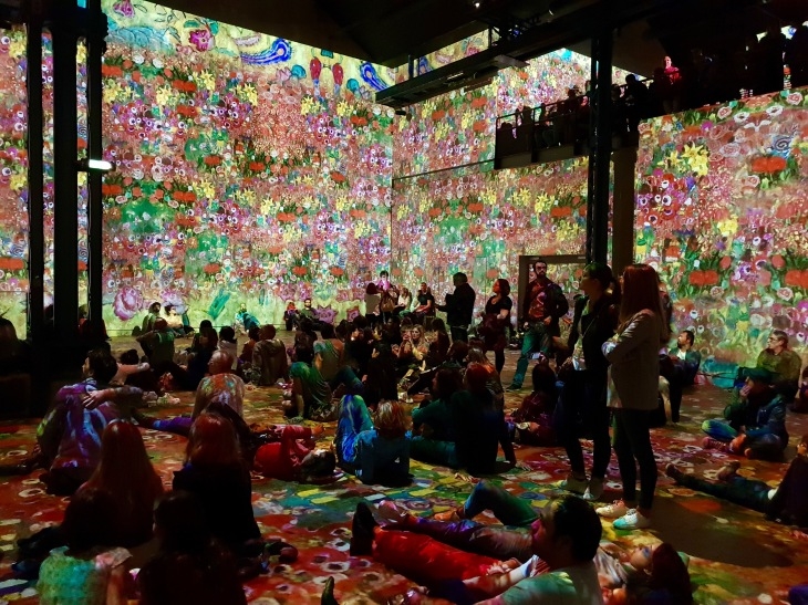 Expositions numériques - L'Atelier des Lumières à Paris