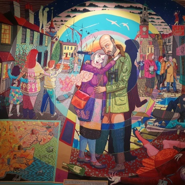 Grayson Perry - Tapisseries - Exposition Monnaie de Paris
