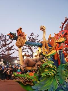 Parade du parc Disneyland Paris