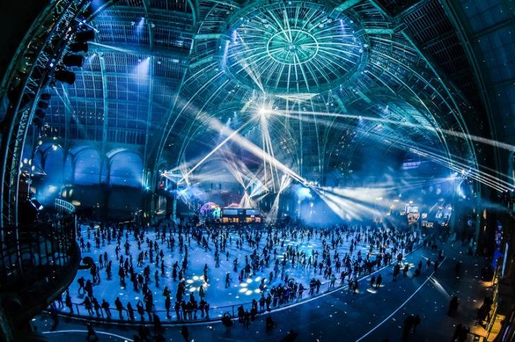 Patinoire au Grand Palais Paris - Le Grand Palais des glaces - Dj set